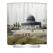 Jerusalem Close Up Shower Curtain