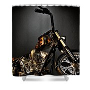 Jesse James Bike 2 Detroit Mi Shower Curtain