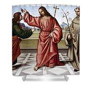 Jesus & Thomas Shower Curtain