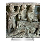 Jesus And Mary Magdalene Shower Curtain