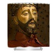 Jesus Christ San Xavier Del Bac Shower Curtain