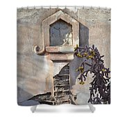 Jesus Image Shower Curtain by Rebecca Margraf