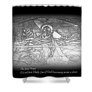 Jesus Prayer Shower Curtain
