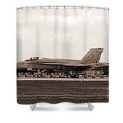Jet Day At Oshkosh Airventure 2012. #01 Shower Curtain