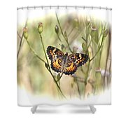 Jewel In The Marsh Shower Curtain