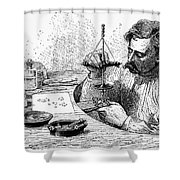 Jeweler, 19th Century Shower Curtain