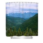 Jewell Basin- Mt Shower Curtain