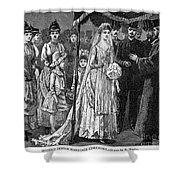 Jewish Wedding, C1892 Shower Curtain