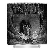 Jews In Fiery Furnace Shower Curtain
