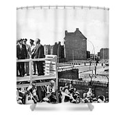 Jfk In Berlin, 1963 Shower Curtain