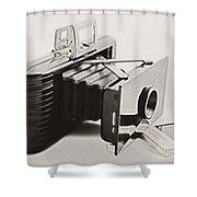 Jiffy Kodak Vp Camera Shower Curtain