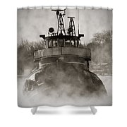 Jimmy L Bow Shower Curtain