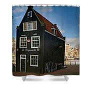 Jodenbreestraat 1. Amsterdam Shower Curtain
