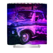 Joe And The Pontiac Truck Shower Curtain