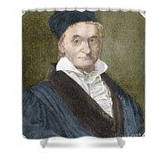 Johann Carl Friedrich Gauss, German Shower Curtain