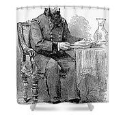 John A. Rawlins Shower Curtain