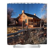 John And Ellen Wood Home Shower Curtain