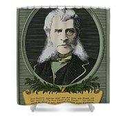 John Bigelow, American Diplomat Shower Curtain