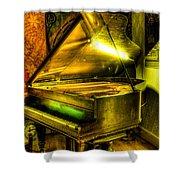 John Broadwood And Sons Grand Piano Shower Curtain