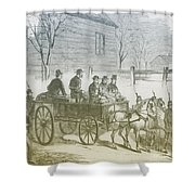 John Brown, American Abolitionist Shower Curtain