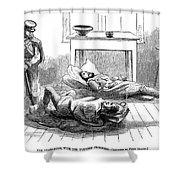 John Browns Raid, 1859 Shower Curtain