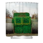 John Deer Made Of Hay Shower Curtain