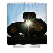 John Deere In The Morning Sun Shower Curtain
