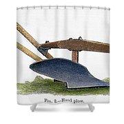 John Deere Plow Shower Curtain