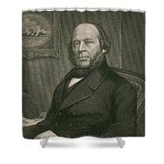 John Ericsson, Swedish-american Inventor Shower Curtain