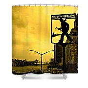 John Finley Walk V1 Shower Curtain