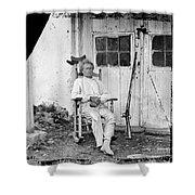 John L. Burns (1793-1872) Shower Curtain