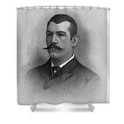 John L. Sullivan Shower Curtain