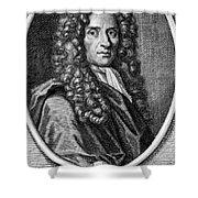 John Locke, English Philosopher, Father Shower Curtain by Science Source