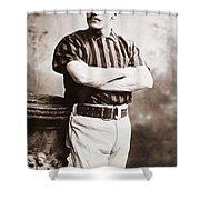 John M. Ward (1860-1925) Shower Curtain