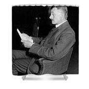 John Masefield (1878-1967) Shower Curtain