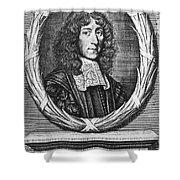 John Mayow (1640-1679) Shower Curtain