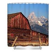 John Moulton Barn Shower Curtain