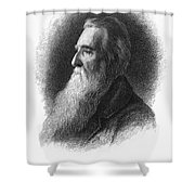 John Ruskin Shower Curtain