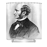 John Stuart Mill Shower Curtain