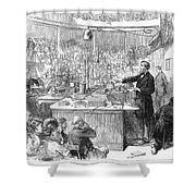 John Tyndall (1820-1893) Shower Curtain