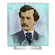 John Wilkes Booth, Assassin Shower Curtain