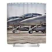 Joint Operations Squadron V3  Shower Curtain