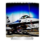 Joint Operations V2 Shower Curtain