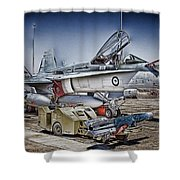 Joint Operations V3 Shower Curtain