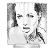 Jolie Waterfall Shower Curtain