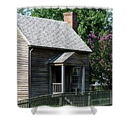 Jones Law Office Appomattox Court House Virginia Shower Curtain by Teresa Mucha