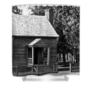 Jones Law Office Appomattox Virginia Shower Curtain by Teresa Mucha