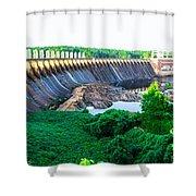 Jordan Dam Shower Curtain