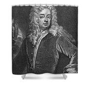 Joseph Addison (1672-1719) Shower Curtain