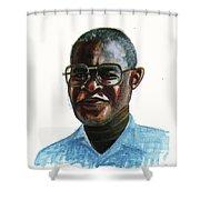Joseph Bessala Shower Curtain